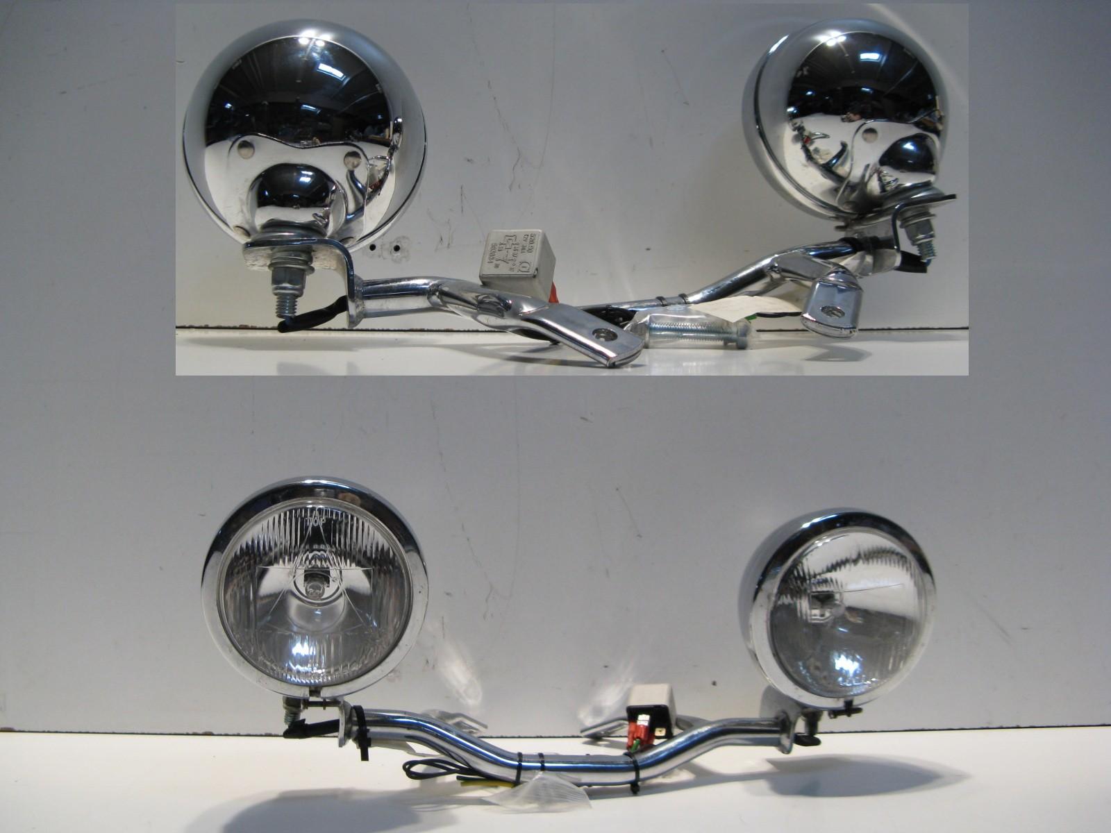 zusatzscheinwerfer satz scheinwerfer lampe honda vt 750 c. Black Bedroom Furniture Sets. Home Design Ideas