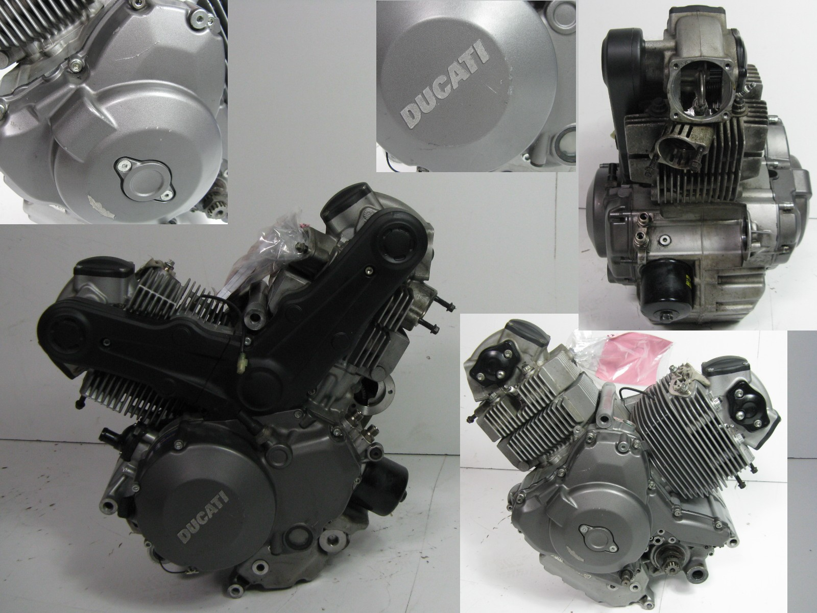 Motor (ca. 12.000 Km) Service-Heft Engine Getriebe Ducati Monster ...