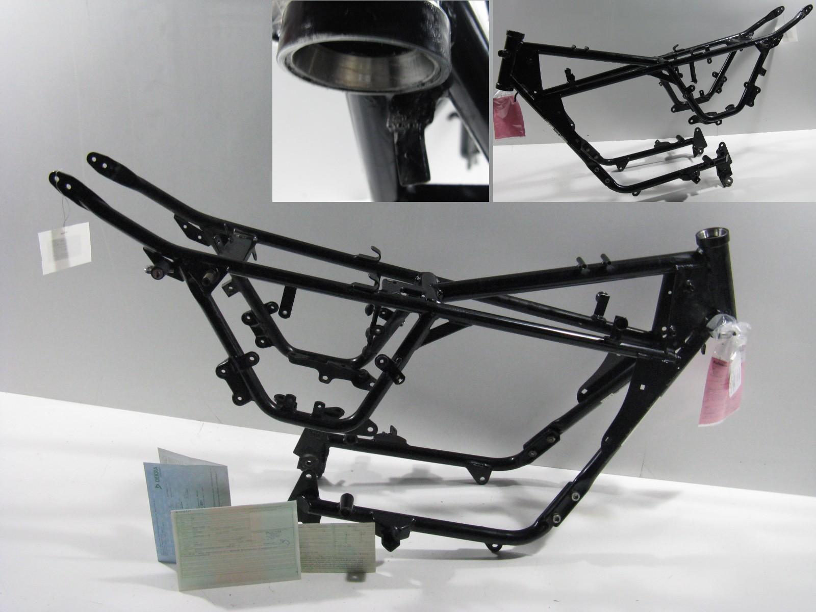 Rahmen Brief (EZ: 29.04.1999, HU: 04/2019) Frame Moto Guzzi Nevada ...